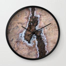 Earth Art Salt of the Earth Wall Clock