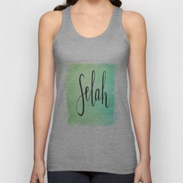Selah - Watercolor Unisex Tank Top