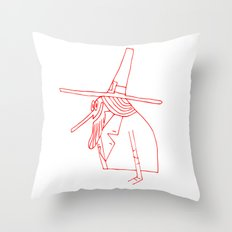 Happy Pilgrim Throw Pillow