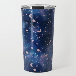 Zodiac - Watercolor Travel Mug