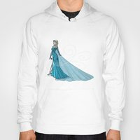 elsa Hoodies featuring Elsa by Eva Duplan Illustrations