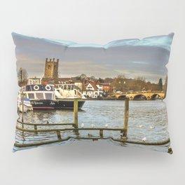 Henley on Thames Riverside Pillow Sham