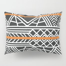 Tribal ethnic geometric pattern 022 Pillow Sham