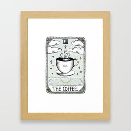 The Coffee Framed Art Print