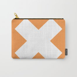 X WHITE Carry-All Pouch