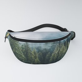 Sequoia Foggy Forest Fanny Pack
