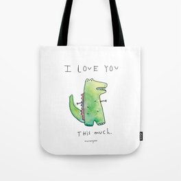 This Much Tote Bag