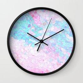 Paper marbling Wall Clock