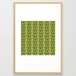 Escher Fish Pattern XI Framed Art Print
