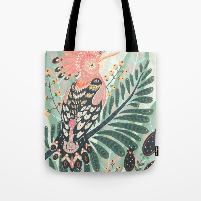 Hoopoe Bird Tote Bag