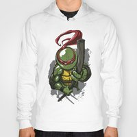 teenage mutant ninja turtles Hoodies featuring Teenage Mutant Ninja Turtles Donatello by Josh Rudloff