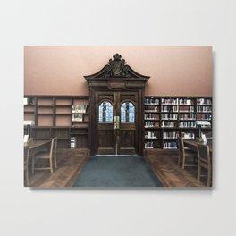 Library II Metal Print