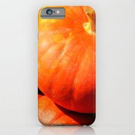 Orange pumpkins in a random pile iPhone Case