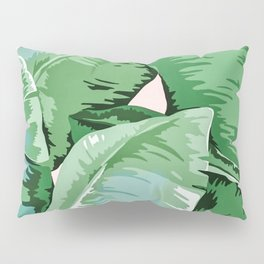 Banana leaf grandeur II Pillow Sham