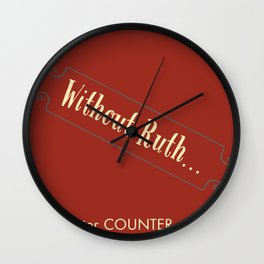 Counter Counter Culture - Ruthless Wall Clock
