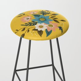 Flowers Bar Stool