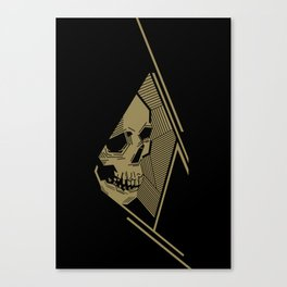 Golden Death Canvas Print