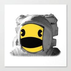 Pacstronaut Canvas Print