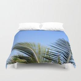 Palm Tree Sky Duvet Cover