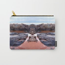 Reflection of Short Rock Carry-All Pouch