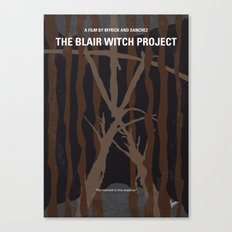No476 My The Blair Witch Project minimal movie poster Canvas Print
