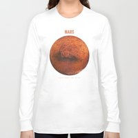 bruno mars Long Sleeve T-shirts featuring Mars by Terry Fan
