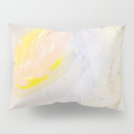 Shine Abstract Painting Pillow Sham