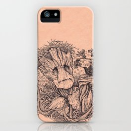 I Heart Groot iPhone Case