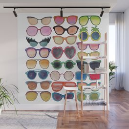 Sunglasses by Veronique de Jong Wall Mural