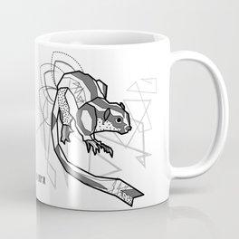 Geometric Striped Possum Coffee Mug