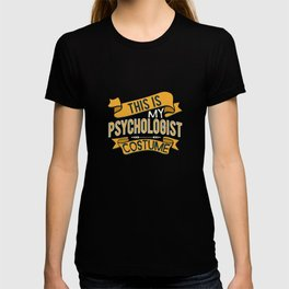 This Is My Psychologist Costume Therapist T-shirt