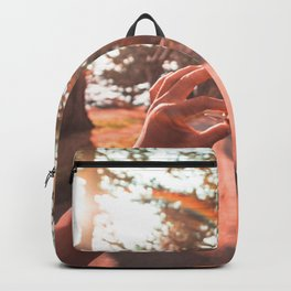 Sun Flare Golden Snitch Backpack