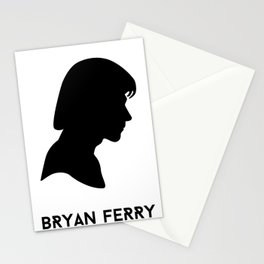 Ferry Silhouette - Bryan Ferry Stationery Cards
