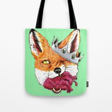 Queen Fox You Have My Heart Tote Bag