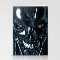 terminator Stationery Cards featuring The Terminator by Photographicleigh