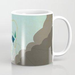 flying skull Coffee Mug