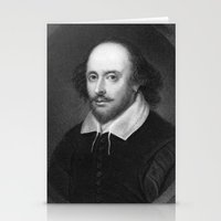 shakespeare Stationery Cards featuring William Shakespeare by Palazzo Art Gallery