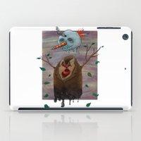 snow iPad Cases featuring Snow by gunberk