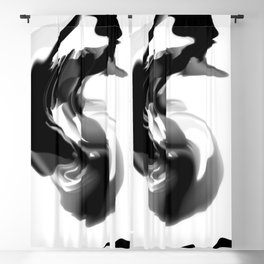 Ink Blot 12 Blackout Curtain