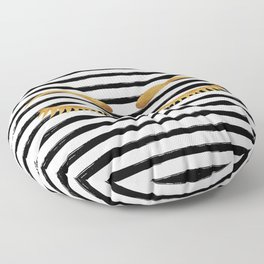 Eyes & Stripes Floor Pillow