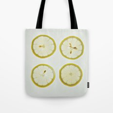 Lemon Square Tote Bag