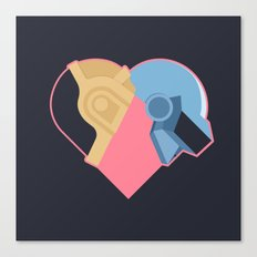 Daft Love Canvas Print