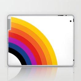 Retro Rainbow - Right Laptop & iPad Skin