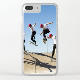 Bigspin Clear iPhone Case
