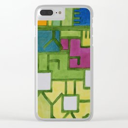 The Filling Line Clear iPhone Case