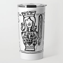 King of Spades Travel Mug