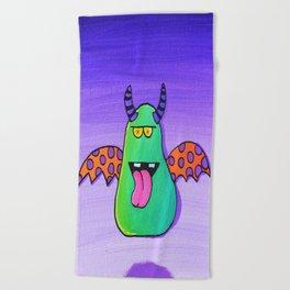 Creatch: Meet Maurice Beach Towel