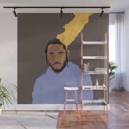 Kendrick Lamar, Brown Wall Mural