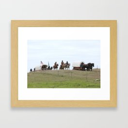 Trail Ride Framed Art Print