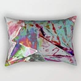 Polished Paper Structure  Rectangular Pillow